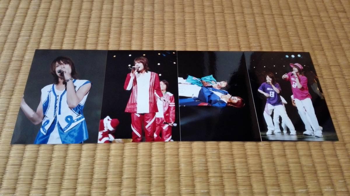 2■内博貴 X'masパーティー 2014 会場限定写真 4枚 渋谷すばる 藤原丈一郎■