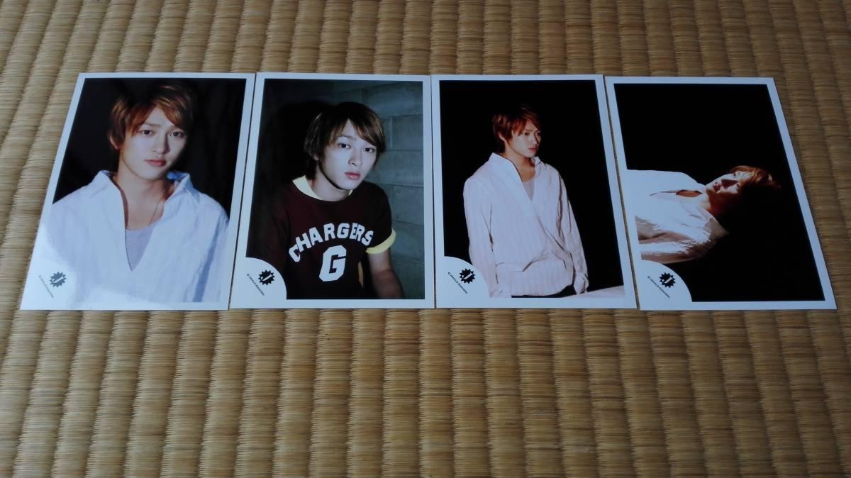 ■関ジャニ∞ 横山裕 Jr.名鑑13 2004 公式写真 全4枚■