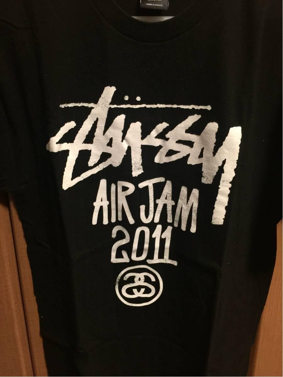 AIRJAM 2011 STUSSY STAFF スタッフ Tシャツ サイズM Hi-STANDARD ハイスタ ハイスタンダード ライブグッズの画像