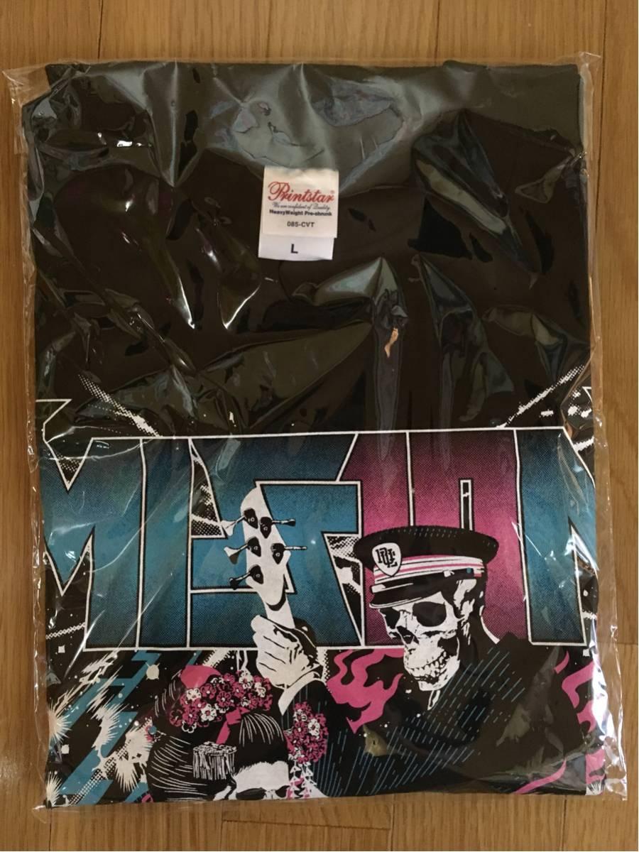 【送料込・新品】ポルノ大作戦オフィシャルTシャツ Lサイズ 京都大作戦 10-FEET ロットングラフティ ライブグッズの画像
