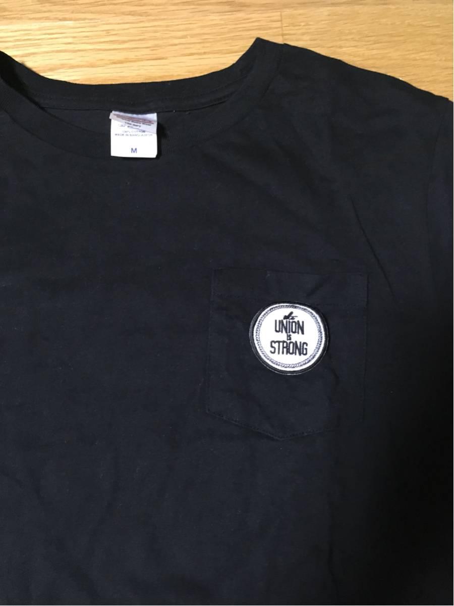 【新品】THUMB BLACK BUCK チャリティー ポケットTシャツ 黒・M