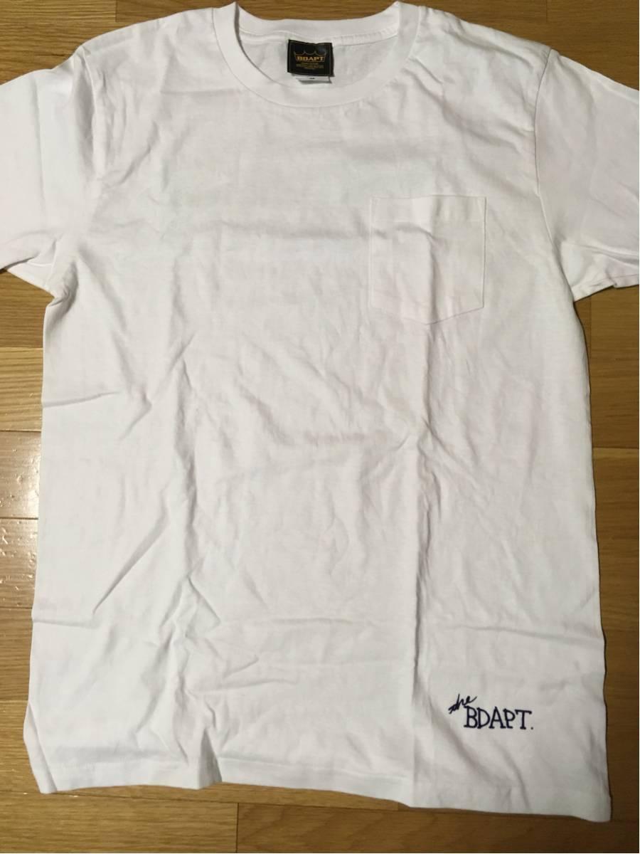 【送料込・新品】the band apart ポケットTシャツ 白・M