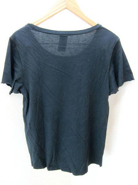 ●BURFITT/バーフィット★I LOVE PARISブラックTシャツS●CE_画像2