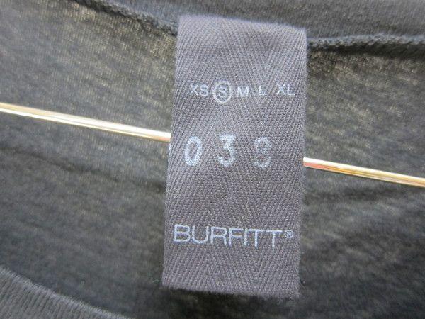 ●BURFITT/バーフィット★I LOVE PARISブラックTシャツS●CE_画像3