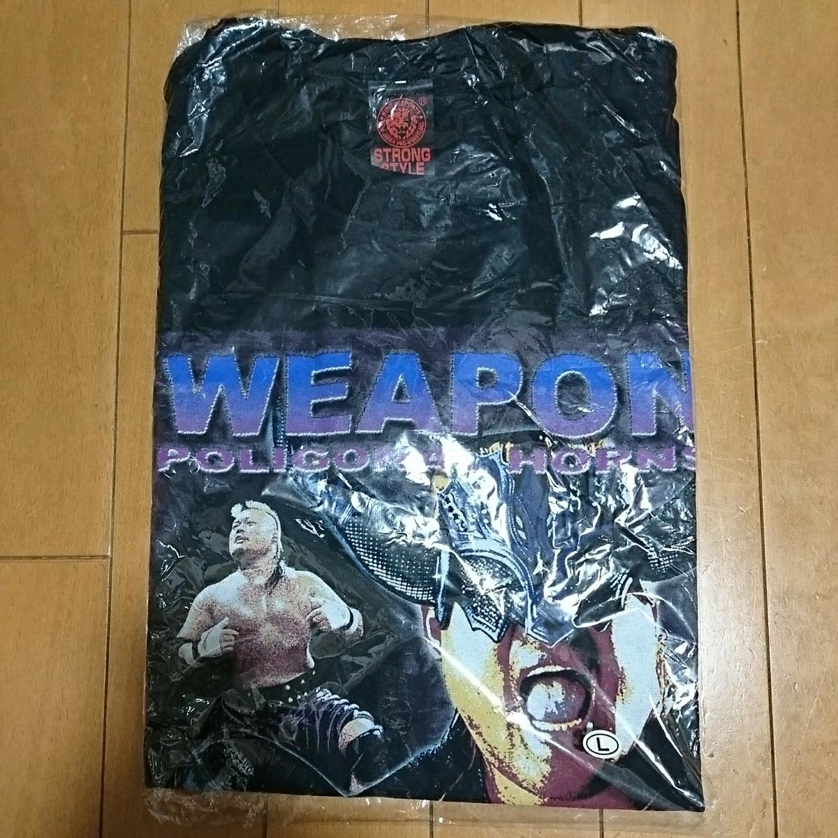 新日本プロレス 天山 広吉 Tシャツ 新品 未使用 黒プロレス 格闘技 Lサイズ グッズの画像