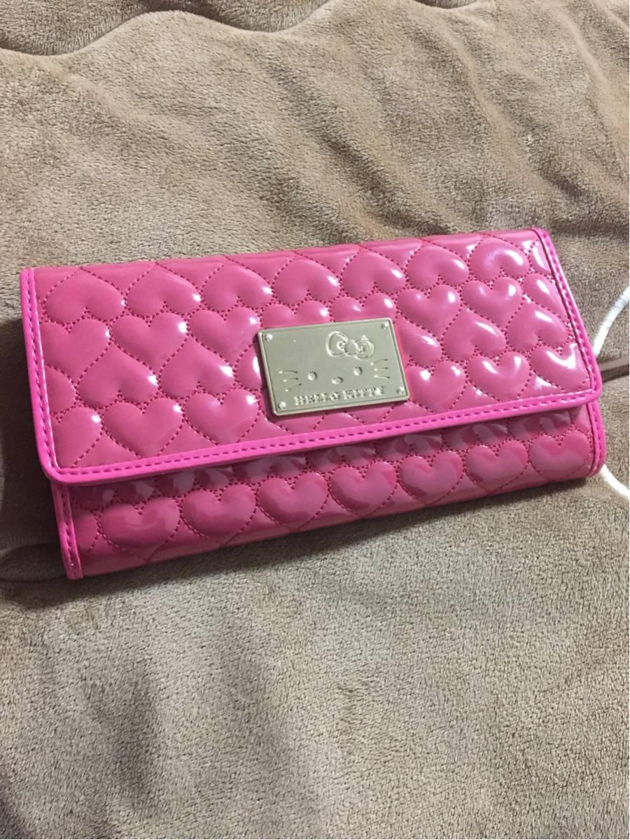 Hello kitty ハローキティ 財布 ウォレット プライズ品 アミューズメント品 カラー ピンク 商品評価 【5】 グッズの画像