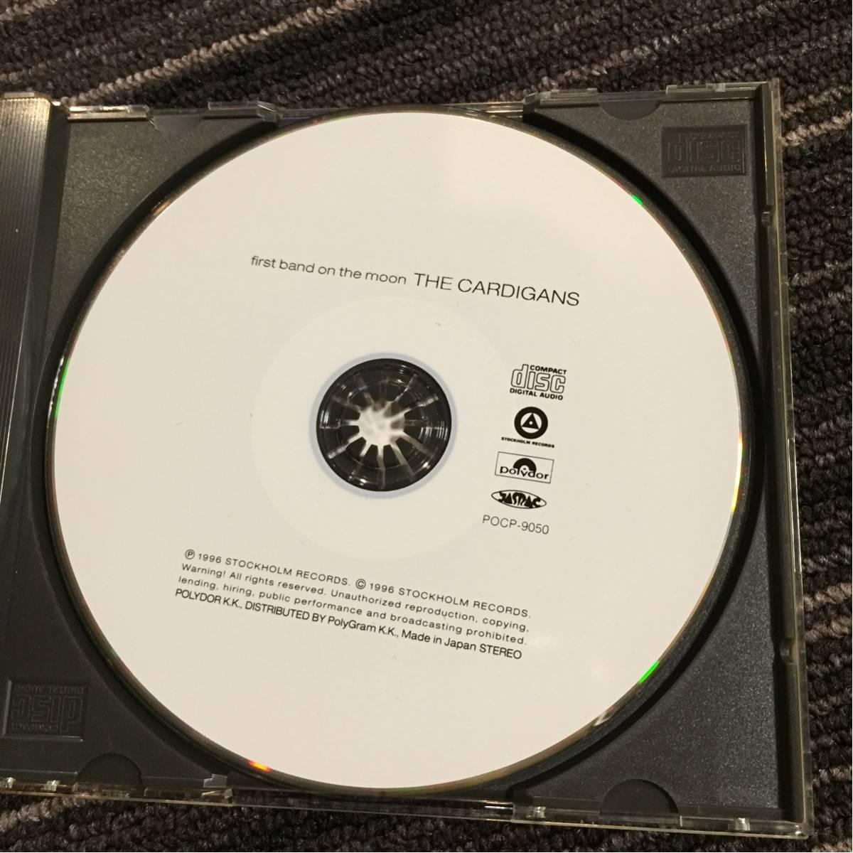 THE CARDIGANSカーディガンズ/ FIRST BAND ON THE MOONファースト・バンド・オン・ザ・ムーン_画像3