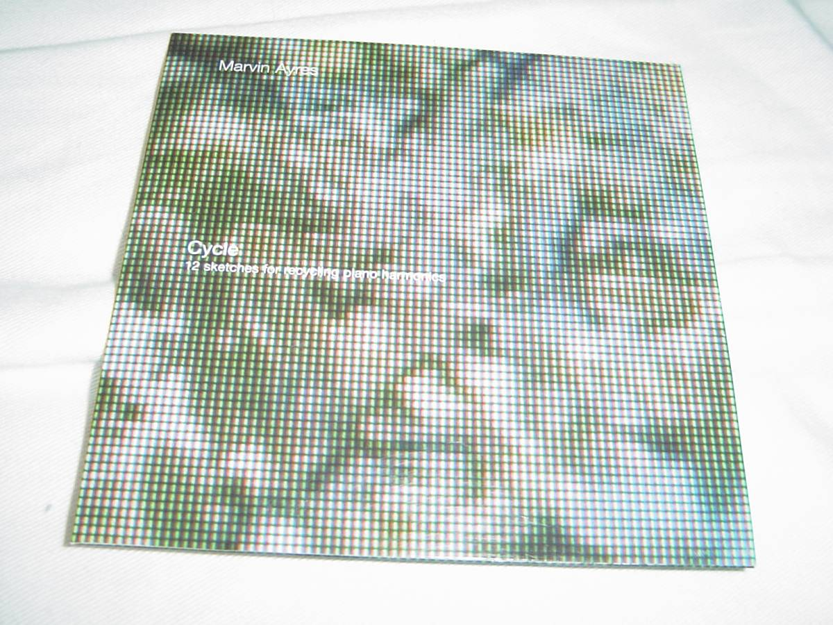 Marvin Ayres 「CYCLE」 CURVED AIR、PORCUPINE TREE関連 アンビエント系名盤 サイト限定盤_画像1