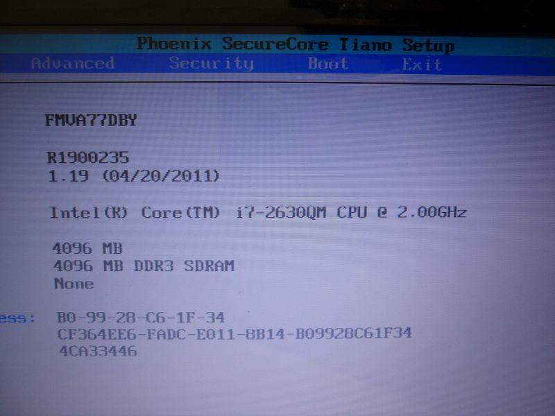 ■△■2086 FUJITSU FMV LIFEBOOK AH77/D FMVA77DB Core i7 2630QM 難あり (T)_画像2