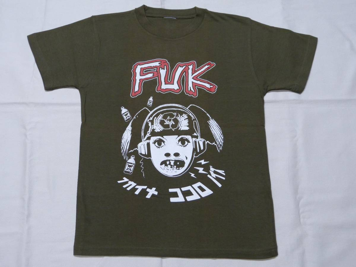 FUK Tシャツ 貴重 DISCHARGE CRASS CHAOS UK DISORDER CHAOTIC DISCHORD AMEBIX ANTI SECT MOTORHEAD LOS CRUDOS パンク 666 STLTH GISM