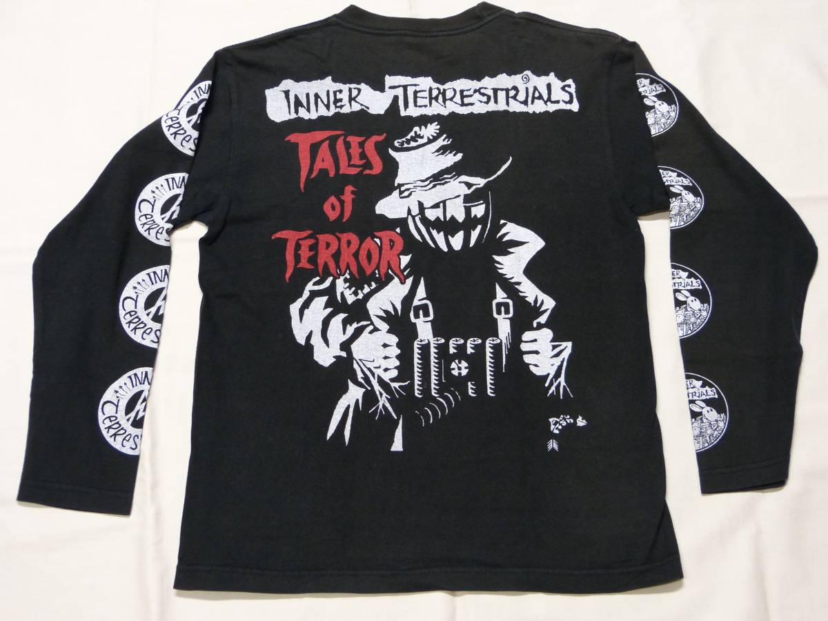 INNER TERRESTRIALS Tシャツ 貴重 DISCHARGE CRASS CONFLICT DIRT AMEBIX SUBHUMANS DISCLOSE SDS GLOOM undercover stlth パンク 666 GISM グッズの画像