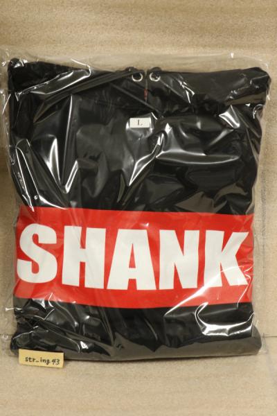 新品 SHANK BOXロゴ パーカー 黒 Lサイズ グッズ