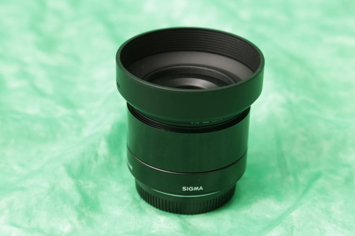 SIGMA 19mm F2.8 マイクロフォーサーズ OLYMPUS Panasonic 新品同様 ほぼ使ってません