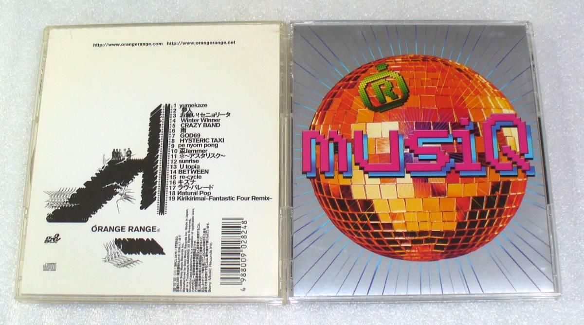 ■ORANGE RANGE(オレンジレンジ)『MUSIQ(帯つき)』『NATURAL』CDアルバム2枚セット◆アスタリスク/以心電心◆送料164円_画像3