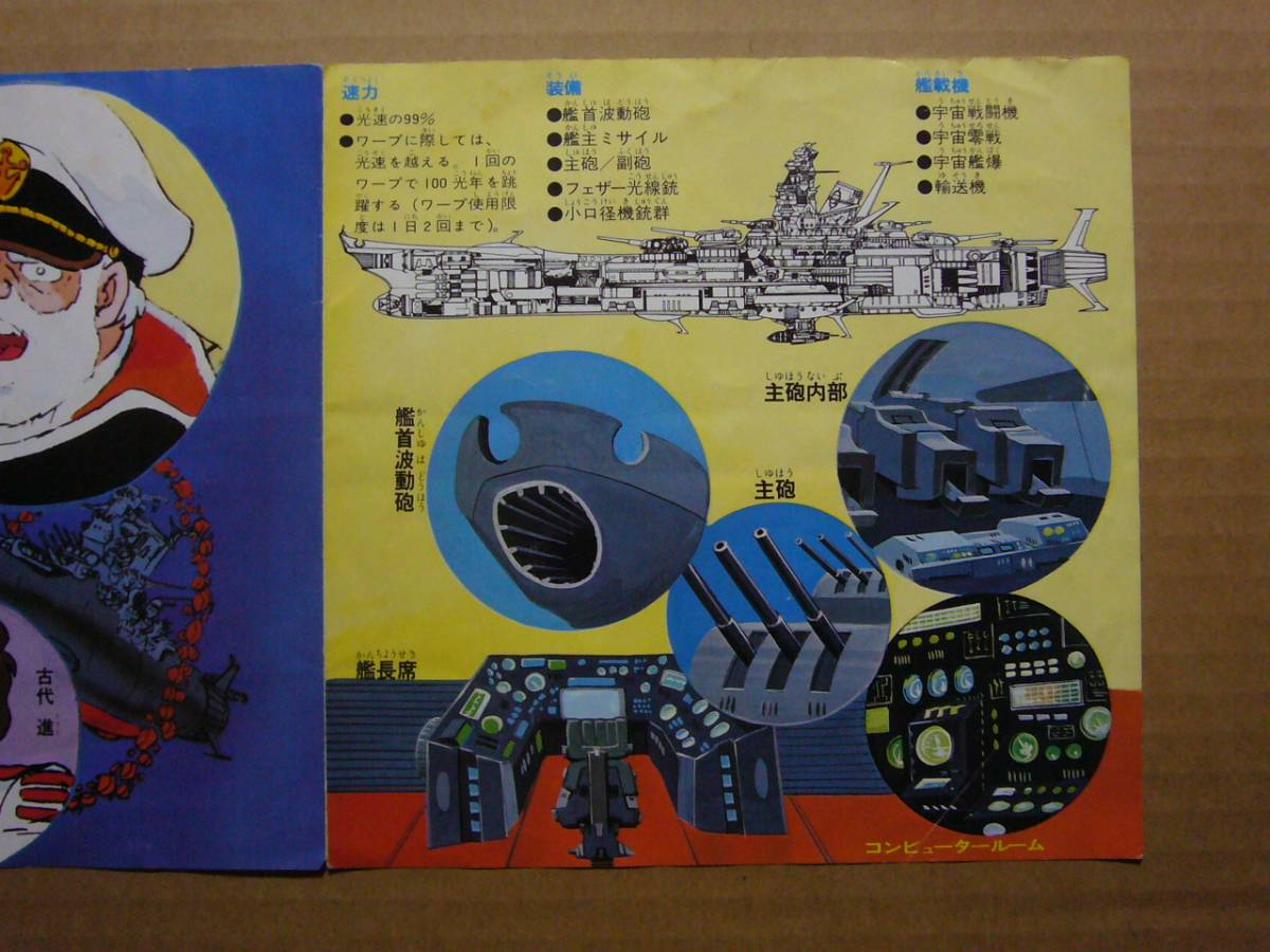 ★EP盤シングル★4223 アニメ 宇宙戦艦 ヤマト 真赤なスカーフ ささきいさお_画像5