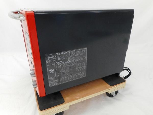 中古 SHARP シャープ ウォーターオーブン ヘルシオ AX-HC1-R オーブン 26L レッド系 調理 Healsio 家電 W2703270_画像8