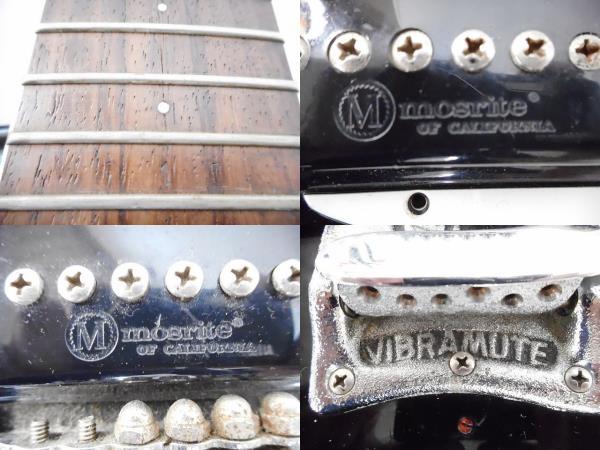 希少!! ビンテージ Mosrite モズライト VENTURES MODEL ベンチャーズモデル USA エレキギター 弦楽器 演奏 レア W2677071_画像2