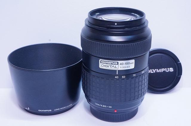フード付き OLYMPUS ZUIKO DIGITAL 40-150mm F3.5-4.5 #134