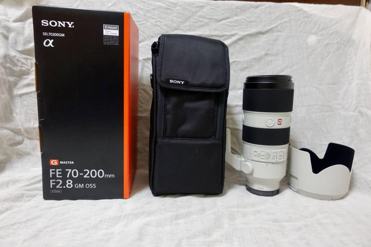 SONY FE70-200mmF2.8GM OSS 新品同様