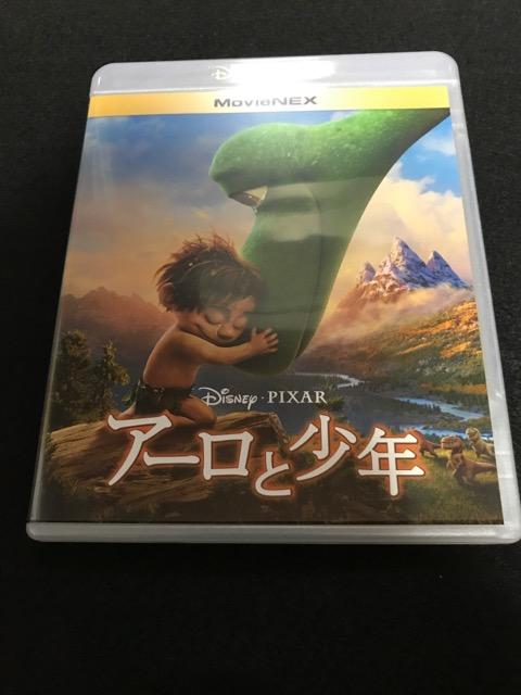 ☆ 送料込 【 ディズニー 】 アーロと少年 MovieNEX ブルーレイ&DVDセット(Blu-ray Disc)  ディズニーグッズの画像