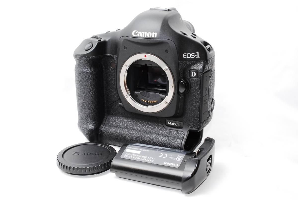 【美品】 キヤノン CANON EOS 1D mark iii 3 10.1MP デジタル一眼カメラ ボディ