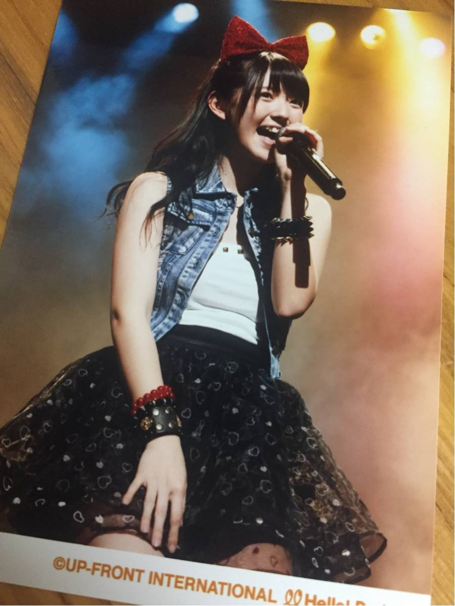℃-ute 鈴木愛理 写真 5 バースデー 19歳 キュート ライブグッズの画像