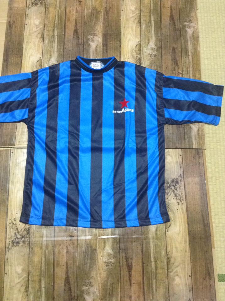 イギリス製 ブライアンアダムス サッカーシャツ