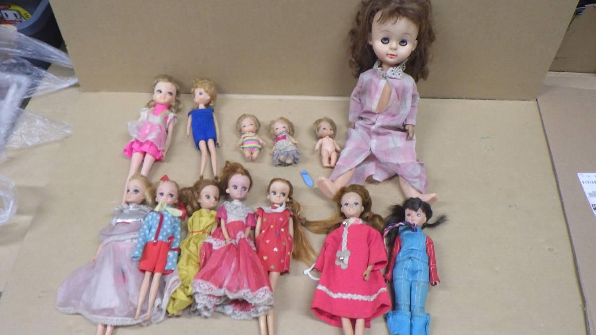 まとめ売り 70年代~80年代 ナカジマ おしゃべり人形 タカラ かぼちゃワインLちゃん人形 リカちゃん 大量 色々 13個セット 激レア 当時物