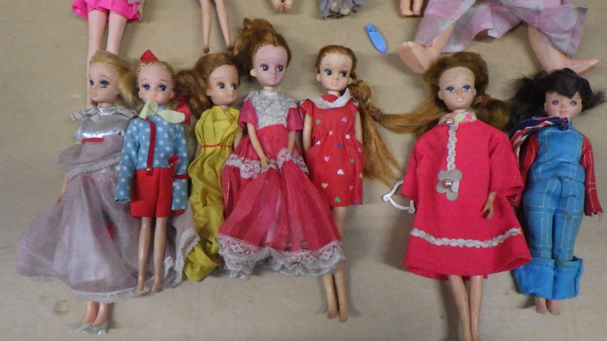まとめ売り 70年代~80年代 ナカジマ おしゃべり人形 タカラ かぼちゃワインLちゃん人形 リカちゃん 大量 色々 13個セット 激レア 当時物_画像2