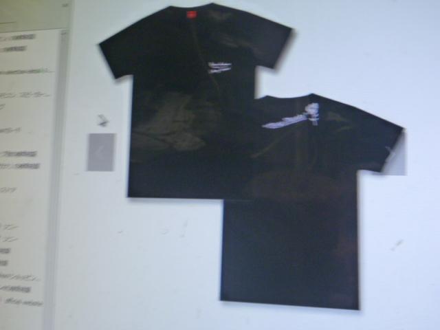 西野カナ、2017年ドームツアーグッツ、オジニナル、Tシャツ、黒色、Lサイズ ライブグッズの画像
