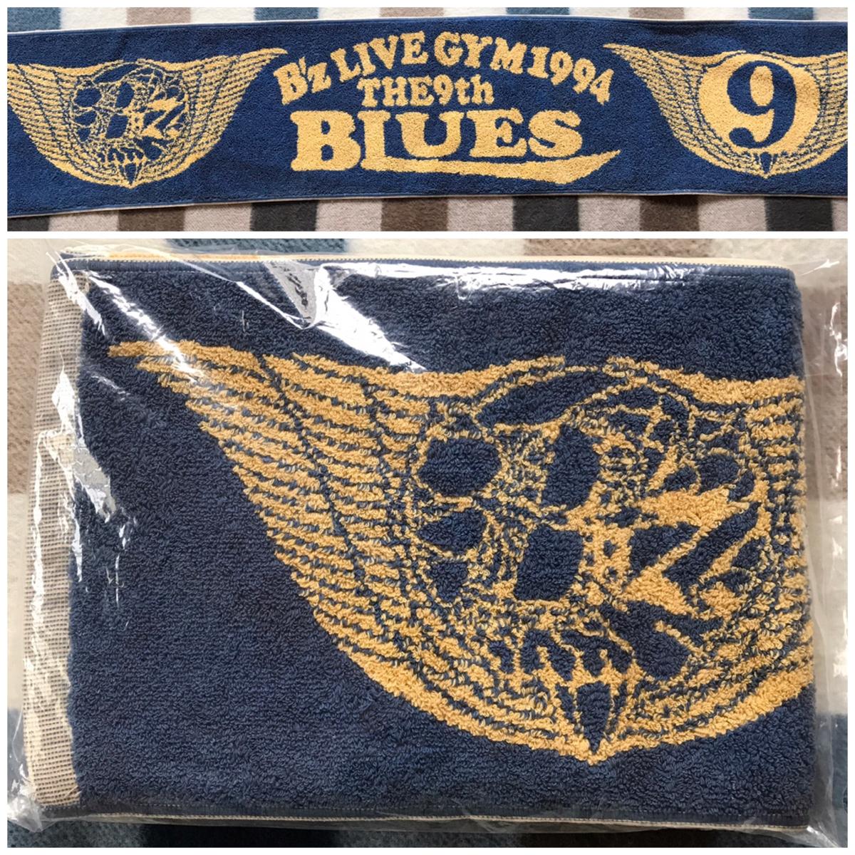 B'z LIVE-GYM 1994 The 9th Blues タオルマフラー 稲葉浩志 松本孝弘