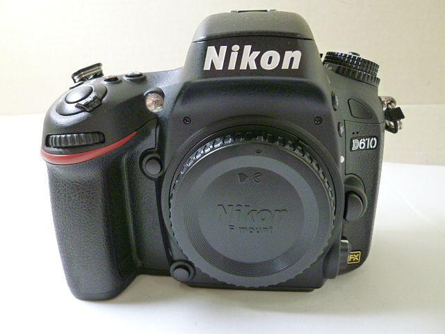 美品 Nikon ニコン デジタル一眼 カメラ D610 ボディ 箱、付属品完備(4932)