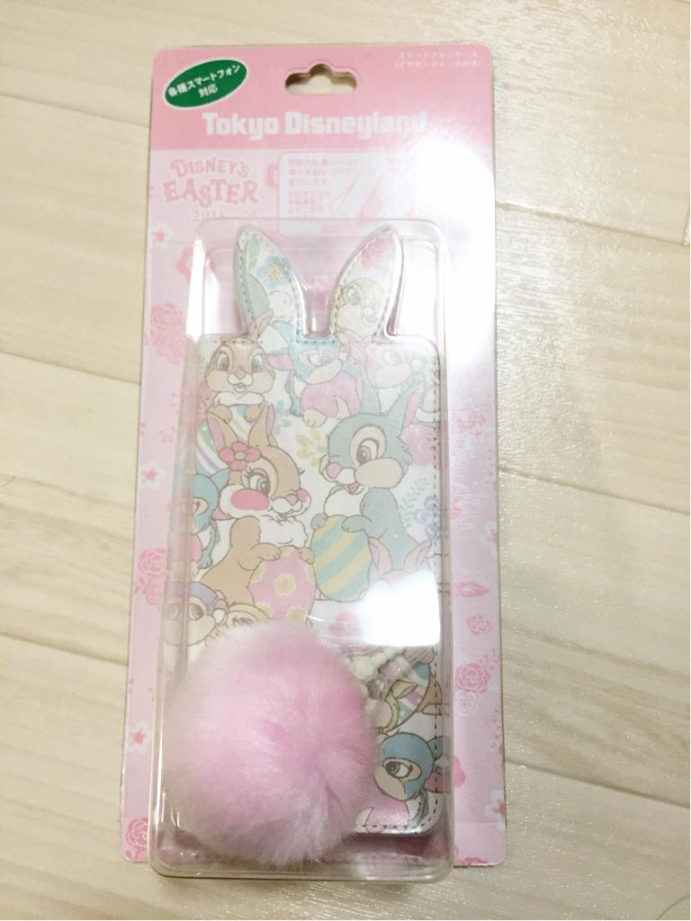 TDL☆2016 ディズニー イースター☆とんすけ スマホケース ☆ ディズニーグッズの画像
