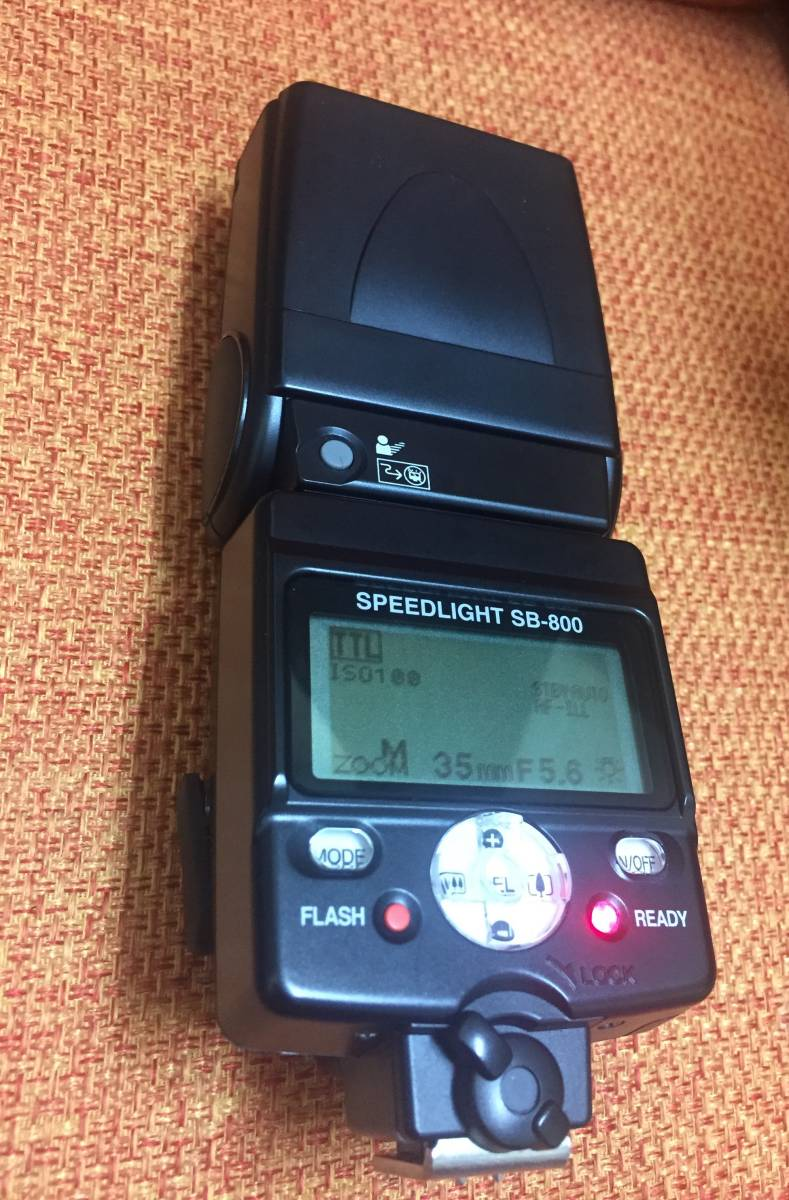 ♪ Nikon スピードライト SB-800 ニコン ストロボ_画像2