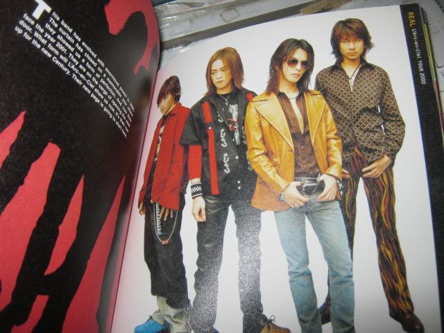 L'Arc-en-Ciel ラルクアンシエル / TOUR 2000 REAL パンフレット_画像3