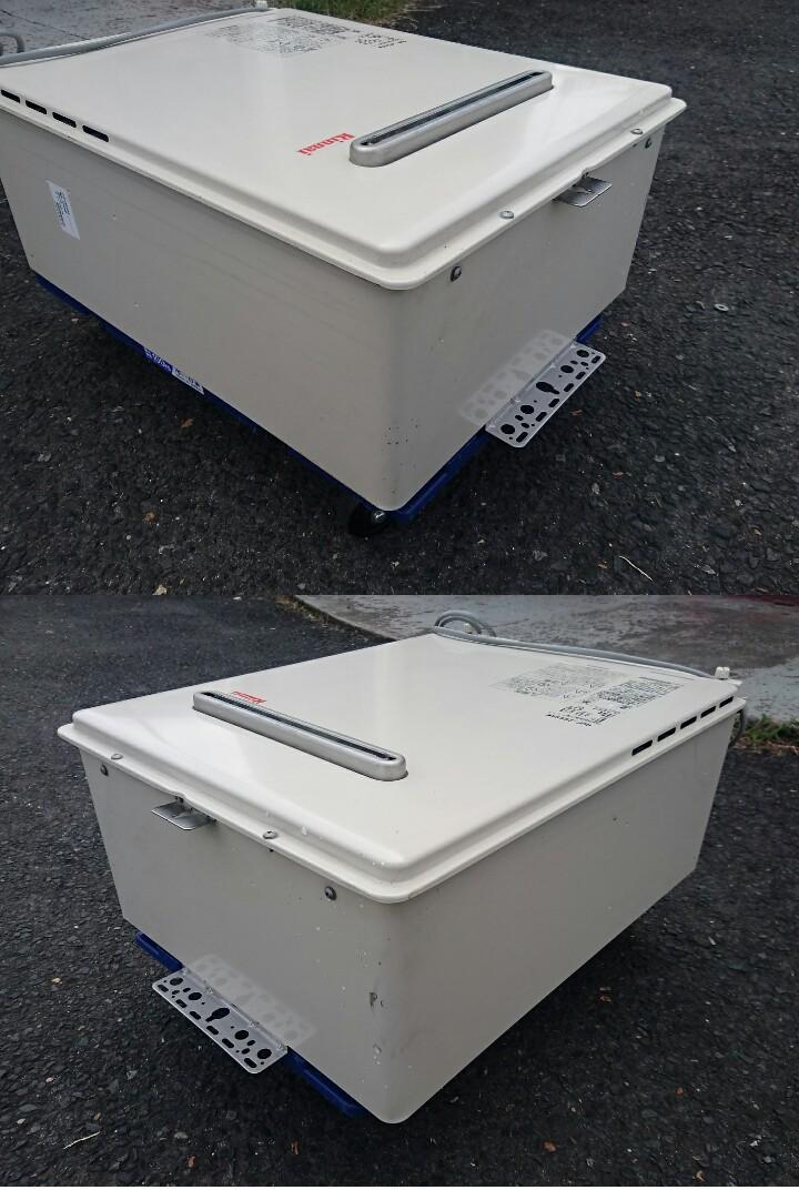 リンナイ 都市ガス給湯器 RUF-A2005SAW 20号/2015年製_画像2