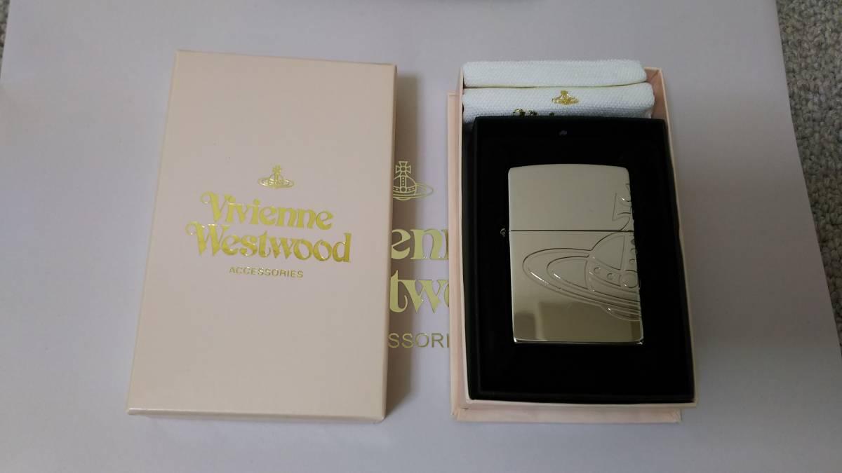 (正規品) (送料無料) ヴィヴィアン ウエストウッド zippo (Vivienne Westwood 0006 ラウンドorb) 2011年 08月製造