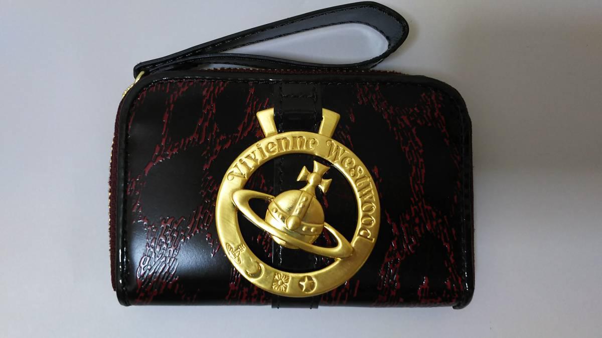 (正規品) (送料無料) (個装箱無し) ヴィヴィアン ウエストウッド LF小銭入れ ワインレッド (Vivienne Westwood) gold leopard wr No.1