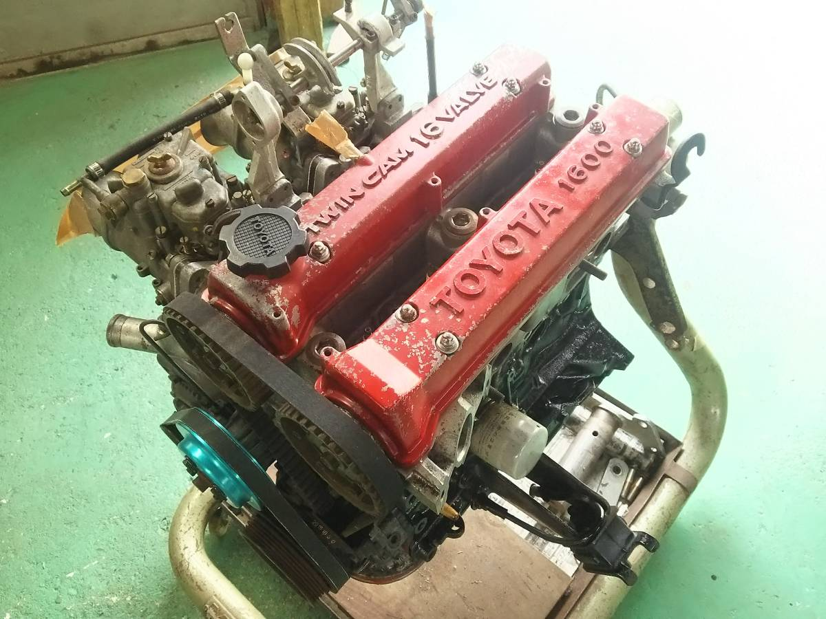 AE86用 N2仕様エンジン ステージ3 4AG