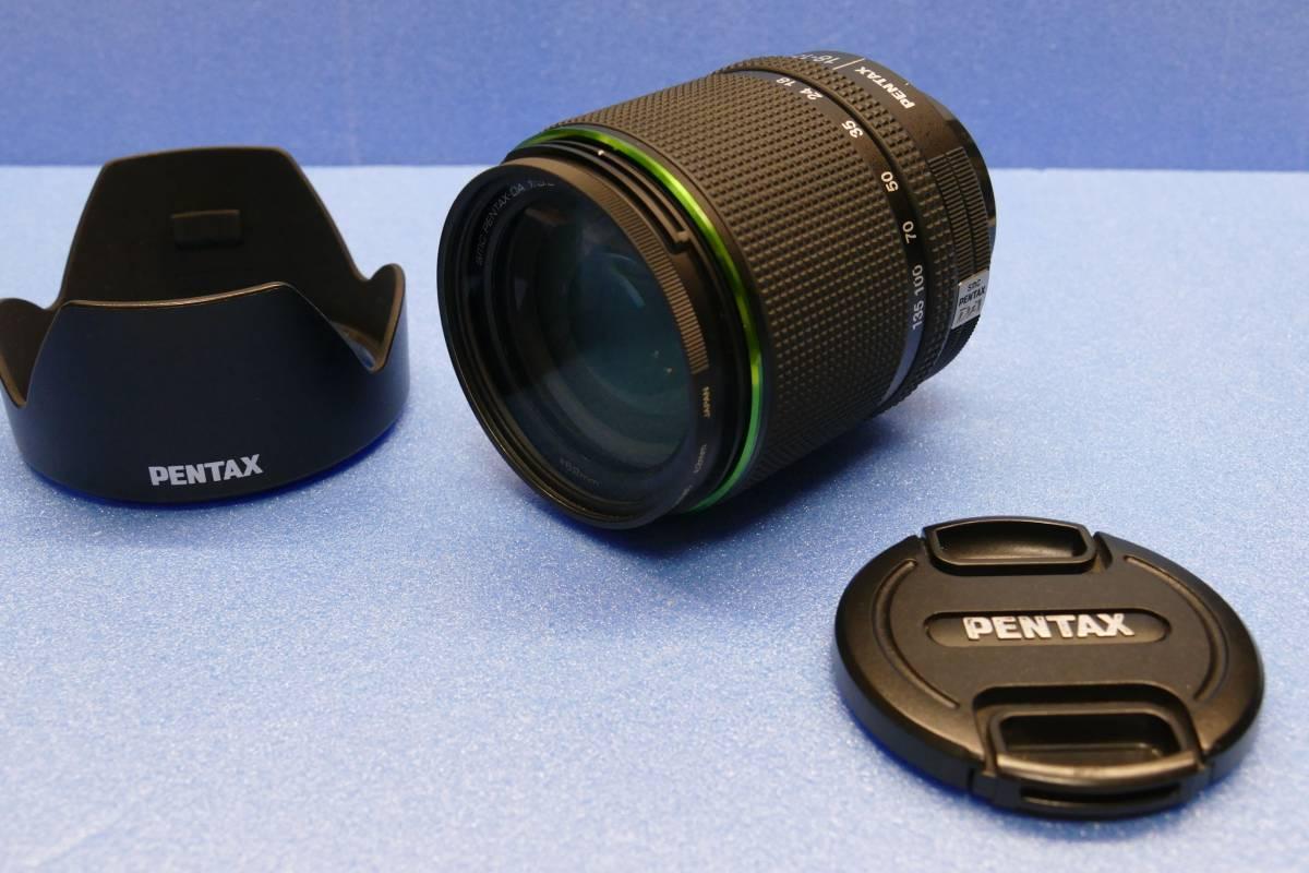 【完動品・程度良】PENTAX ズームレンズ DA 18-135mm 3.5-5.6 DC WR