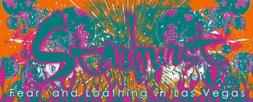 新品● Fear, and Loathing in Las Vegas タオル オレンジ×グリーン●ラスベガス SiM HEY-SMITH WANIMA 10-FEET サンボマスター