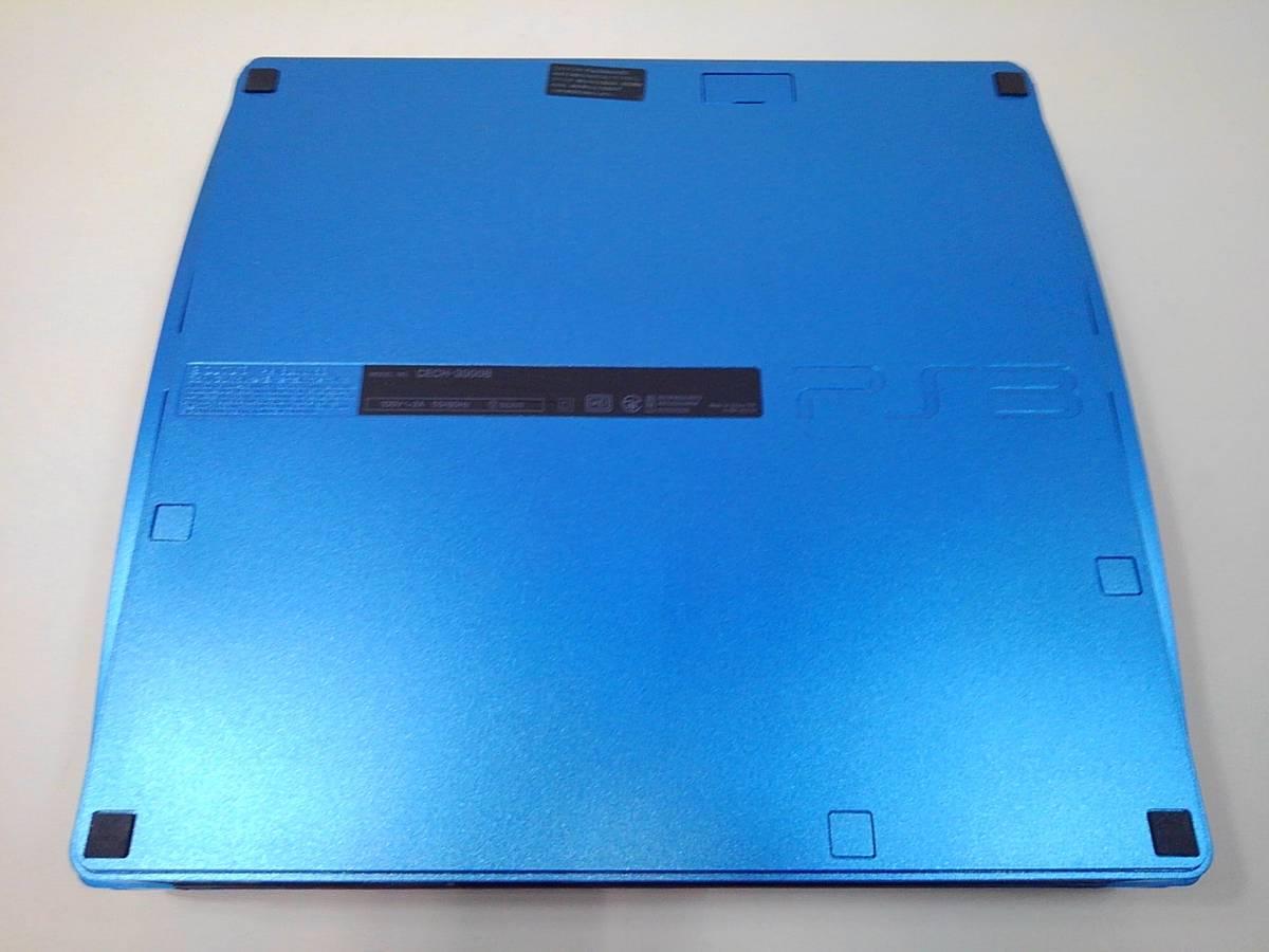 sony PS3 CECH-3000B スプラッシュブルー 本体_画像2