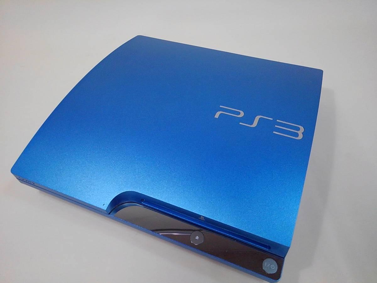 sony PS3 CECH-3000B スプラッシュブルー 本体