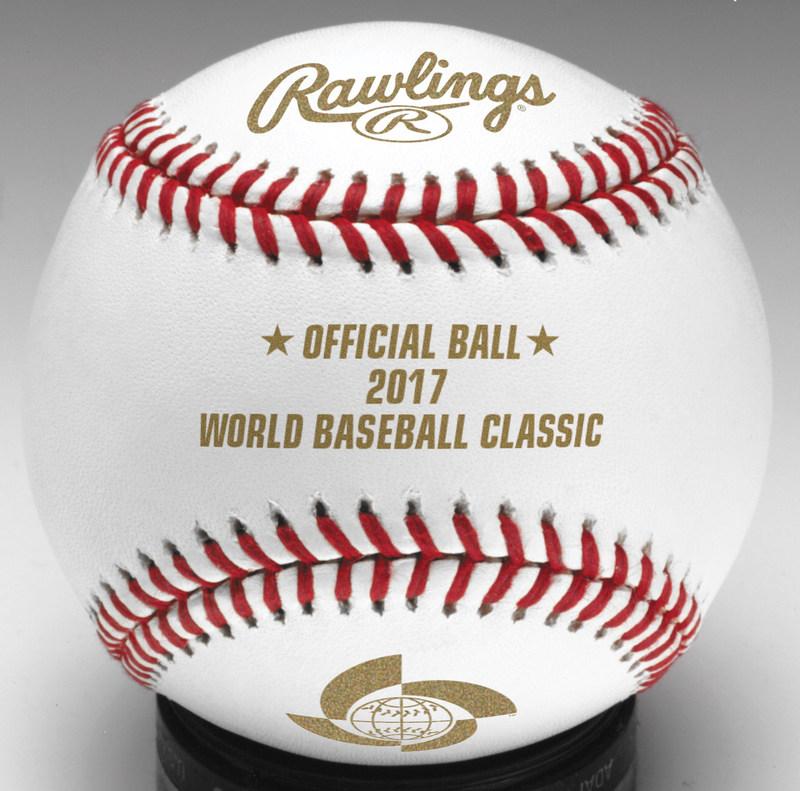 送料無料☆即決!WBC 2017 Ball 記念ボール MLB 野球 Baseball 3個