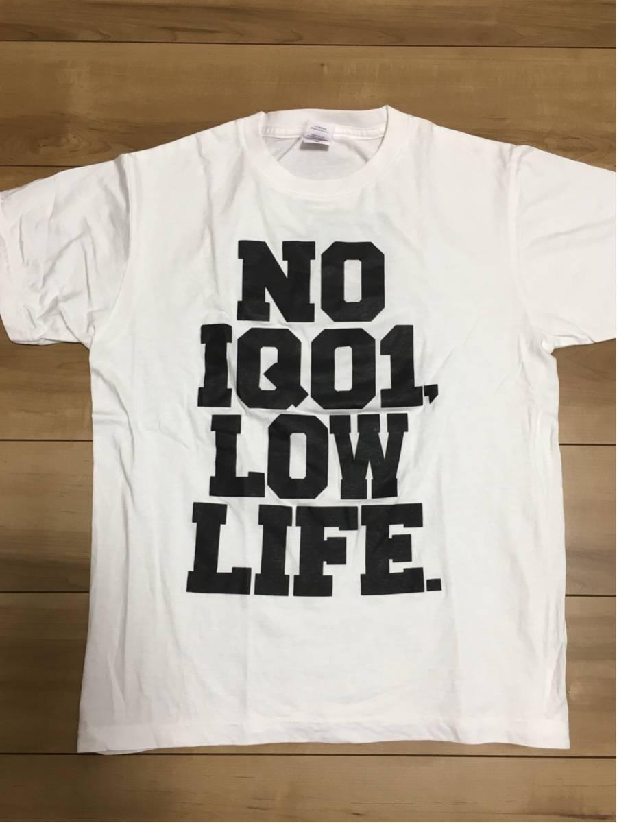 【古着/中古】LOW IQ 01 Tシャツ M ☆ブラフマン細美武士 BRAHMAN the HIATUSワニマ10-FEETken yokoyamaHi-STANDARD ハイスタンダード