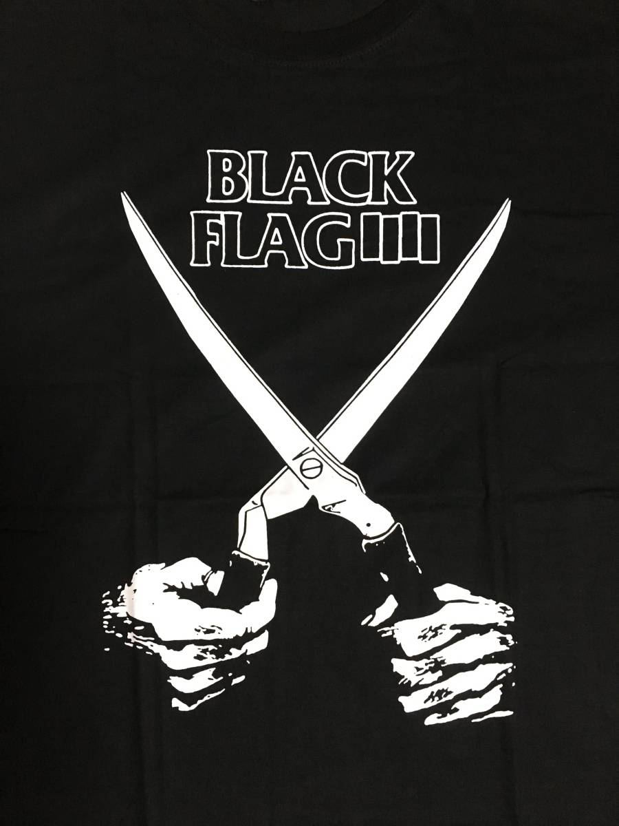 Black Flag ブラックフラッグ Tシャツ 菅田将暉着 黒 L