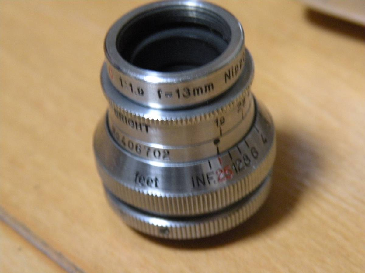 CarenaSA Geneve Suisse【cine-NIKKOR・C 13mm f1.9】 8ミリカメラ ジャンク_画像3