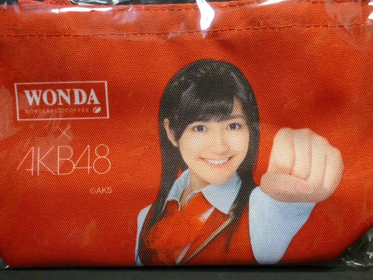 WONDA×AKB48 オリジナルミニトートバック 渡辺麻友さん_画像2