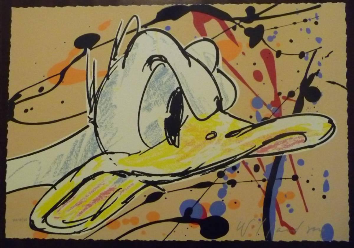 Disney Fine Art ディズニーファインアート ドナルドダック 限定 レア David Willardson ディズニーグッズの画像
