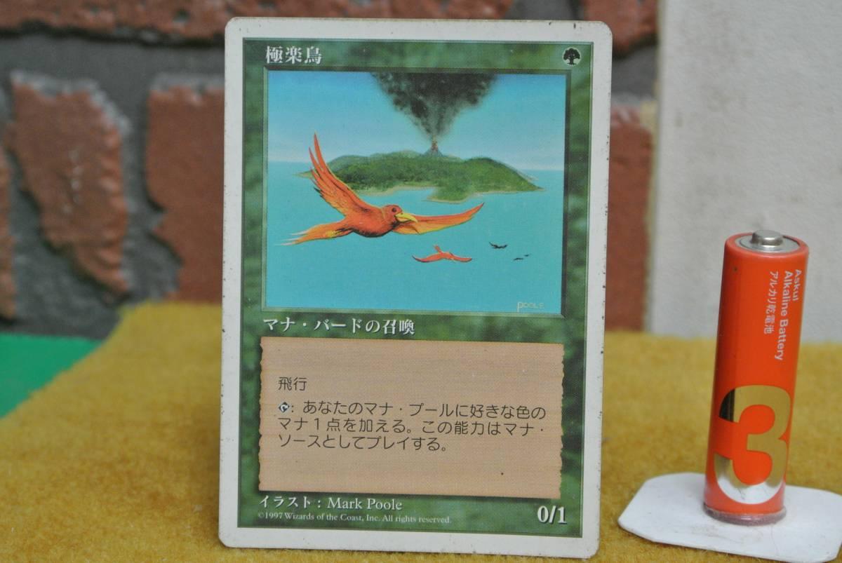 MTG 極楽鳥 日_画像1